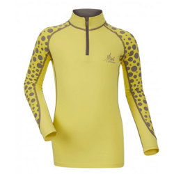 LeMieux Mini Base Layer T-Shirt - Citron - Front
