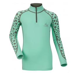 LeMieux Mini Base Layer T-Shirt - Mint - Front