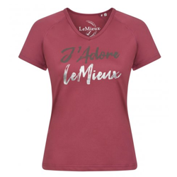 Lemieux J'Adore T-Shirt - French Rose