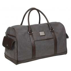 LeMieux Luxury Canvas Duffle Bag - Grå