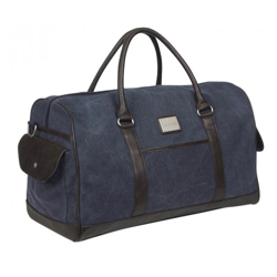 LeMieux Luxury Canvas Duffle Bag - Navy