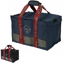 Bandagetaske fra LeMieux - Navy eller Sort - i serien Luxury Luggage