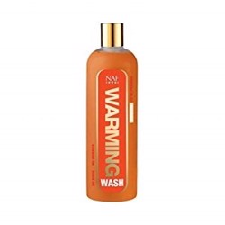 Warming wash fra NAF - Varmede body wash til hest